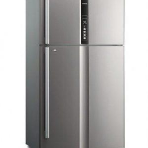 یخچال فریزر دو درب بالاپایین هیتاچی مدل RVG660PUQ3