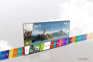 تلویزیون ال جی 32 اینچ مدل LJ530U در مرزلند